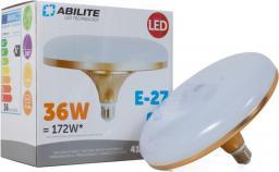 Abilite E27 Ufo Gold Mleczna 36W, 230V