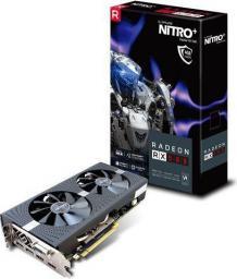 Karta graficzna Sapphire Nitro+ Radeon RX 580 4GB GDDR5 (256 Bit) DVI-D, 2xHDMI, 2xDP (11265-07-20G)