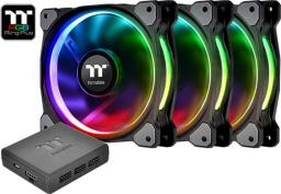 Thermaltake Riing Plus 14 RGB 3-pack + Hub (CL-F056-PL14SW-A)