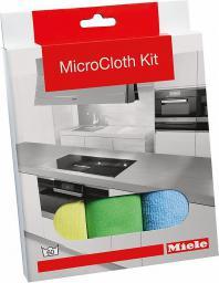 Miele Ściereczki do czyszczenia z mikrofazy: 3 szt. uniwersalna, do szkła i do polerowania (10159570)