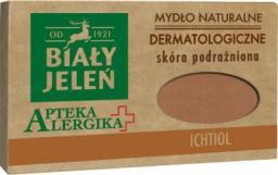 Biały Jeleń Apteka Alergika mydło dermatologiczne z ichtiolem 125g