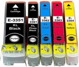 Activejet AE-33PBNX tusz czarny foto do drukarki Epson (zamiennik Epson 33XL T3361) Supreme