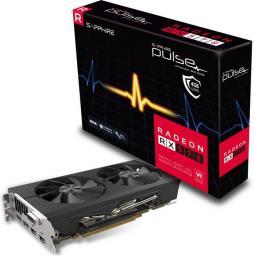 Karta graficzna Sapphire RX 570 Pulse 4GB GDDR5 (256 Bit) DVI-D, 2xHDMI, 2xDP (11266-04-20G)