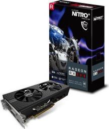 Karta graficzna Sapphire RADEON RX 580 NITRO+, 8GB GDDR5 (256 Bit), DVI-D, 2x HDMI, 2x DP (11265-01-20G)