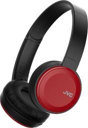 Słuchawki JVC HA-S30BT Czarno-czerwone (HA-S30BT-RE)