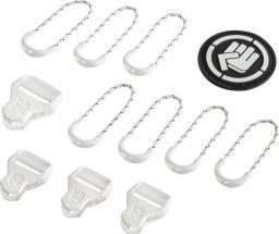 Coocazoo zestaw elementów wymiennych Classic, Bright White 00138789