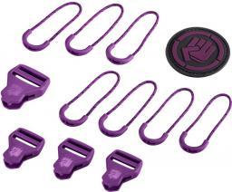 Coocazoo zestaw elementów wymiennych Classic, Italian Plum 00138794