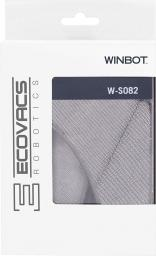 Ecovacs Ecovacs Cleaning Pad W-S082 ( 2 pcs ), Washable and reusable microfibre, Winbot 950, Grey - W-S082