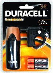 Duracell Duracell Światła rowerowe LED F01 czrno-złota (BIK-F01WDU)
