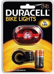 Duracell Duracell Światła rowerowe LED B03 czerwone (BIK-B03RDU)