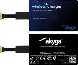 Akyga Ładowarka indukcyjna, micro USB (AKKADAKYQI000001)