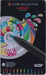 Bic Kredki Conte Metalowe Color Collection