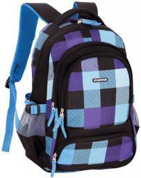 Starpak Plecak szkolny Indigo w kratkę (375498)