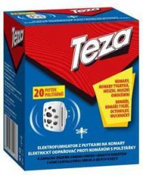 Sarantis Teza Elektrofumigator z płytkami na komary z 20 płytkami  (621463)