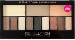 Makeup Revolution Paleta cieni do powiek Ultra Eye Contour Light and Shade V3