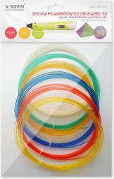 Elmak Zestaw filamentów do drukarek 3D | 6x3m (SAVIO DRP-042)