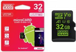 Karta MicroSD GoodRam SDHC 32GB Class10 (M1A0-0320R11-A1)