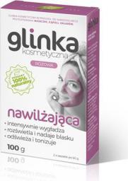 Biomika Natural Home Spa Glinka kosmetyczna Różowa Nawilżająca 100g