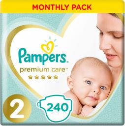 Pampers Pieluchy Premium Monthly Box S2 240szt.