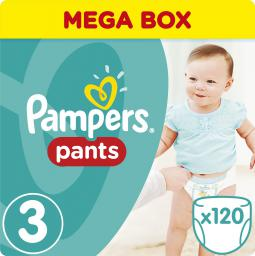 Pampers Pants Rozmiar 3 (Midi) (6-11kg) 120 sztuk