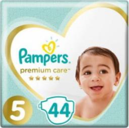 Pampers Premium Care rozmiar 5 (Junior), 11–18kg, 44 pieluszki