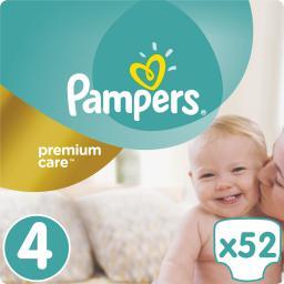 Pampers Premium Care rozmiar 4 (Maxi), 8-14kg, 52 pieluszki