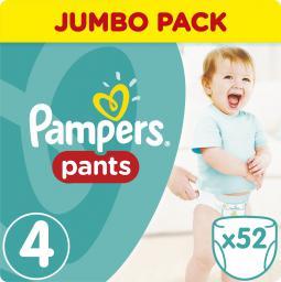 Pampers Pants Pieluchomajtki 4 Maxi 52 sztuki