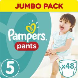 Pampers Pants Pieluchomajtki 5 Junior 48 sztuk