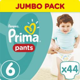 Pampers Pants Pieluchomajtki 6 Extra Large (15+) 44 szt.