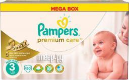 Pampers Pieluchy Premium Care 3 Midi (5–9 kg) 120szt.