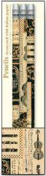 ROSSI Ołówek ozdobny z gumką Music PST 114