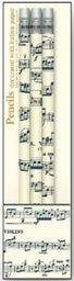 ROSSI Ołówek ozdobny z gumką Musical score by Antonio Vivaldi PST V20