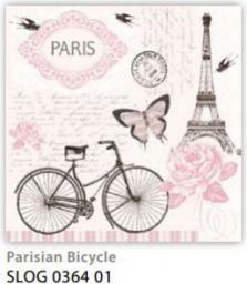 Pol-Mak Serwetki 33 x 33 cm Paryski rower (SLOG 036401)