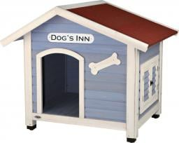 Buda Dog's Inn M: 91 × 80 × 80 cm light blue/white