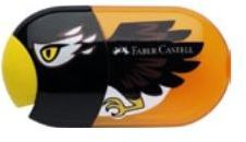Faber-Castell Temperówka podwójna z gumką Orzeł 183527 - WIKR-1014861