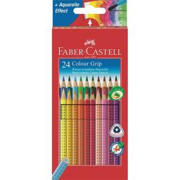 Faber-Castell Kredki ołówkowe Grip 24 kolory (WIKR-052491)