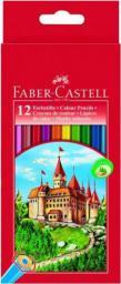 Faber-Castell Kredki Zamek 12 sztuk (WIKR-924359)