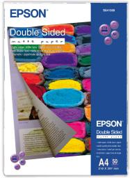 Epson papier Double Sided Matte A4 (C13S041569) 50 ark