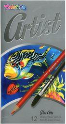 Patio Kredki akwarelowe 12 kolorów Artist Colorino 65528PTR - WIKR-1004970