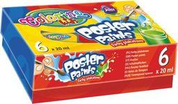 Patio Farby plakatowe 6 kolorów - WIKR-011328