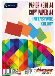 Interdruk Papier ksero A4 80g Mix kolorów Intensywne kolory 100 arkuszy