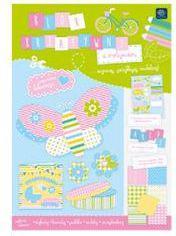 Blok biurowy Interdruk Blok kreatywny A4 z motywami Spring