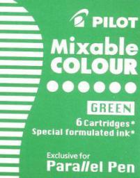 Pilot Naboje, zielone