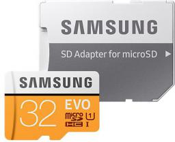 Karta Samsung MicroSDHC EVO 32GB CLASS10 (MB-MP32GA/EU)
