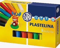 Astra Plastelina 8 kolorów