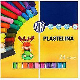 Astra Plastelina 24 kolory 047896