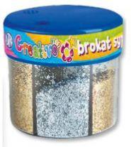 Astra Brokat sypki 6x50g srebrny/złoty