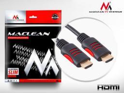 Kabel Maclean HDMI - HDMI 5m czerwony (MCTV-814)