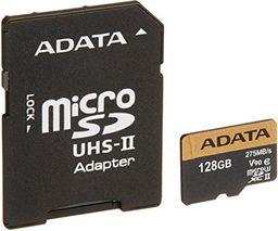 Karta MicroSD ADATA 128GB Class 10 (AUSDX128GUII3CL10-CA1)