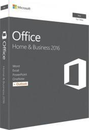 Microsoft Office 2016 dla Użytkowników Domowych i Małych Firm (W6F-00887)